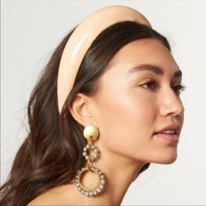 Lele Sadoughi // Gloss Padded Vinyl Headband